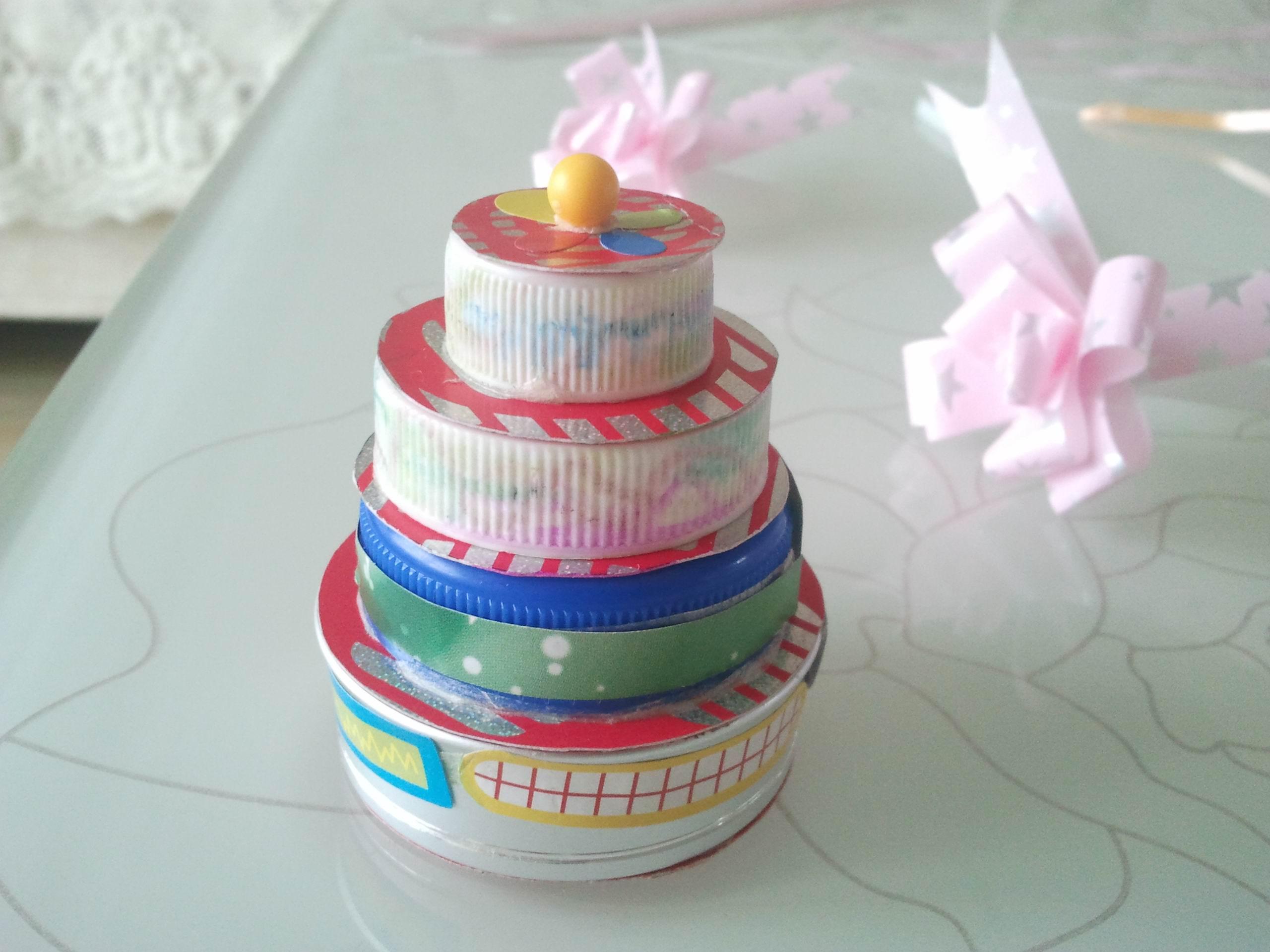 手工制作生日贺卡及生日蛋糕
